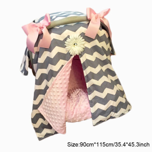 Baby Toddler Soft Blanket Cover Wrap For Car Seat Bassinet Baby Stroller New