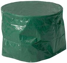 Round Patio Garden Table Furniture Cover Waterproof Green Small New
