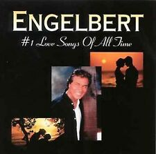 #1 Love Songs of All Time by Engelbert Humperdinck (CD, Masters) cd SEALED