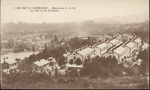 23-CPA-Camp-De-La-Courtine-Gebaeude-C-und-Von