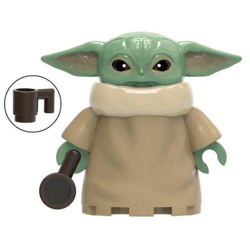 Star Wars LEGO Figures /& MOC Vader Baby Yoda Luke Leia Ren Mandalorian C3PO Solo