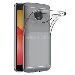 Claro-caso-de-gel-Delgado-Y-Vidrio-Protector-de-pantalla-para-Motorola-Moto-E4-Plus
