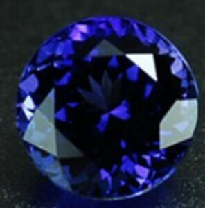 Blue-Tanzanite-7-28ct-Unheated-12mm-Top-Round-Shape-AAAAA-Loose-Gemstones