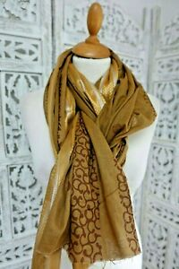 Caramel-block-printed-cotton-shawl-dupatta-wrap-new-SKU15970