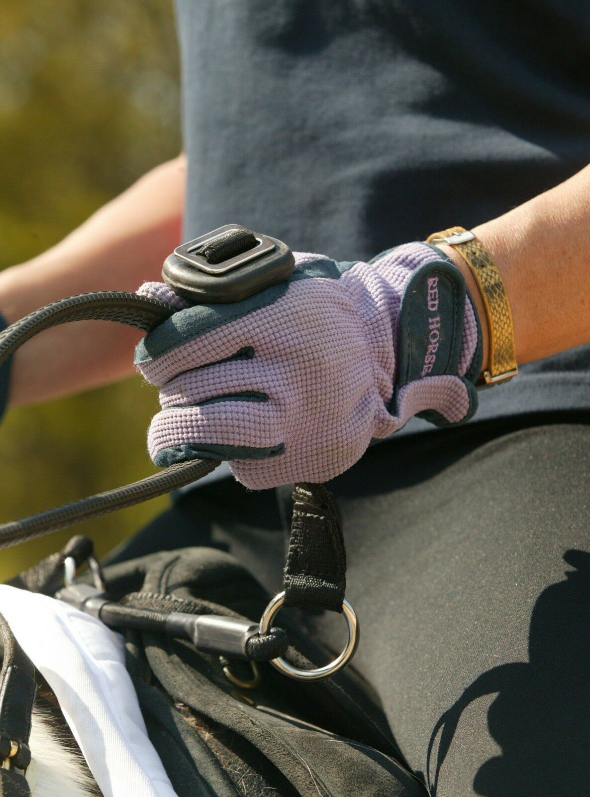 Libbys RS-Tor Safety for Riders. Don't Fall Off  Great for Young or Spooky Horse