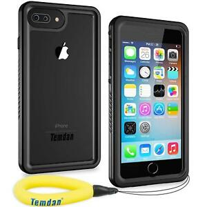 cheap for discount 528ad f85dc Details about Temdan i Phone 7 8 plus Waterproof Case Floating Strap  Underwater Shockproof