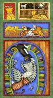 Spx Crazy Cats By Debi Hron 25114 Panel Cotton Fabric