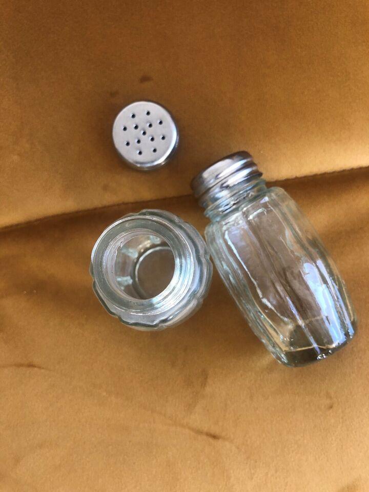 Glas, Salt- og peber-sæt, Vintage