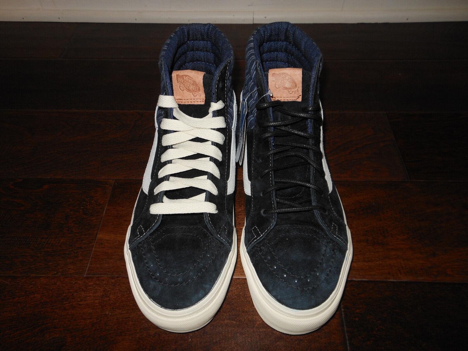 Vans SK8-HI 46 CA Hickory mezcla VN -0 zapatos zdiet 4 zapatos -0 de hombre 42.5 Eur Negro f059fd