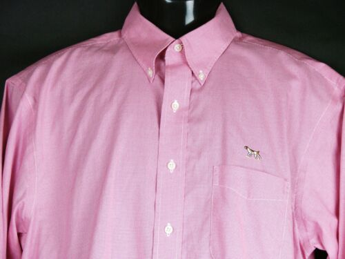 Stinson Wrinkle Free Cotton Dress Shirt Mens Mediu