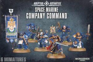 Space-Marine-Company-Command-Warhammer-40K-NIB-Flipside