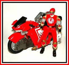 Power Rangers Ninja Storm: Red Glider Cycle with Ranger