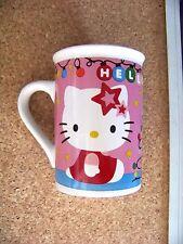 Hello Kitty ceramic mug coffee cup Christmas light Christmas tree