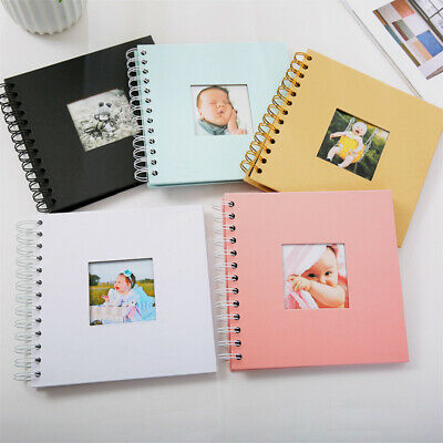 "6/"" Handmade Memory Book DIY Scrapbook Album Kids Baby Anniversary Photo Albums"