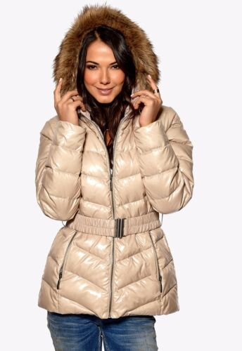 HAPPY HOLLY WARM /& LIGHT  DOWN LINED COAT HOODED JACKET 8-24  FREE P/&P