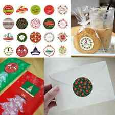 Hot Sale 38Pcs Xmas Gift Box Bag Labels Creative Decorative Sealing Stickers New
