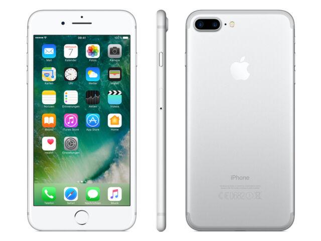 Apple  iPhone 7 128GB - Silber (Ohne Simlock) Smartphone
