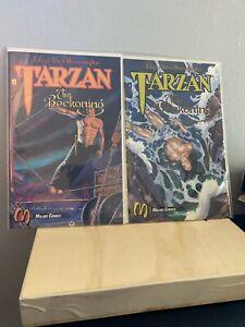 Tarzan: The Beckoning Issue #2 #3 Lot (1992, Malibu)