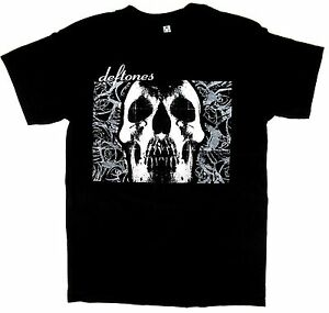 4d9ce9353e04be Image is loading DEFTONES-T-shirt-Rock-Nu-Metal-Skull-Tee-