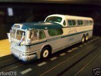 Greyhound chocago Scenicruiser Bus Custom Ho Slot Car 4 Gear