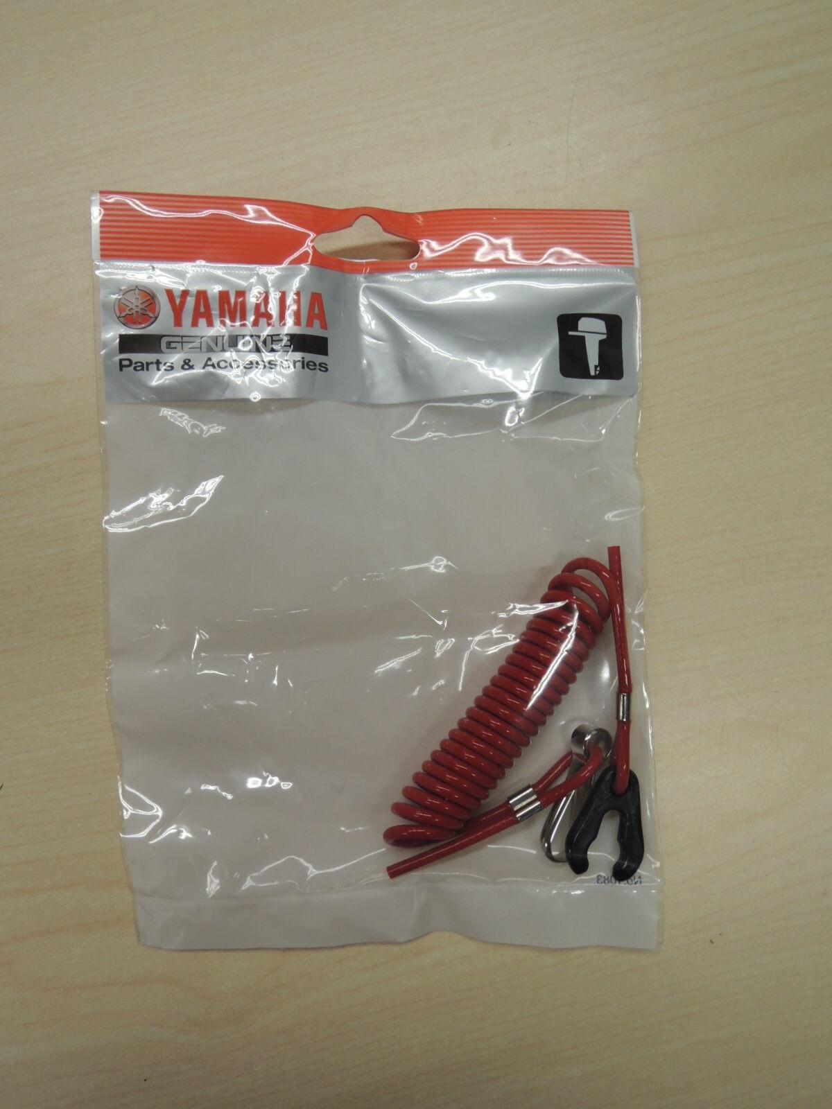 NOS YAMAHA 682-82556-00-00 EMERGENCY STOP LANYARD EXT100 ESE1200 XRT1200