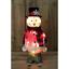 Luce-Up-Movimento-Animato-Babbo-Natale-Pupazzo-di-Neve-Decorazione-Interno-Led miniatura 5