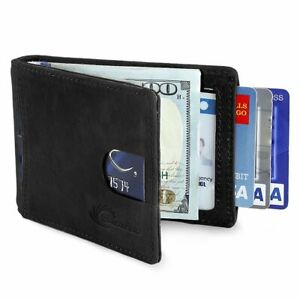 Blocage-RFID-Portefeuille-Minimaliste-pour-Homme-avec-Porte-Carte-Credit