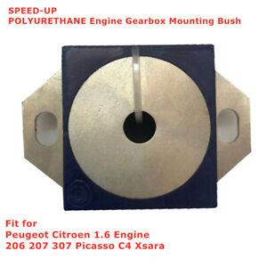 POLYURETHANE Engine Gearbox Mount Bush for Peugeot Citroen 206 207 307 PicassoC4
