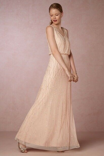 NWT Anthropologie BHLDN Brooklyn Dress Size 6  MRSP 280.00 Sold out