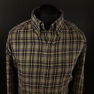 Chaps-Mens-Vintage-Ralph-Lauren-Shirt-3XL-TALL-Long-Sleeve-Regular-Fit-Check