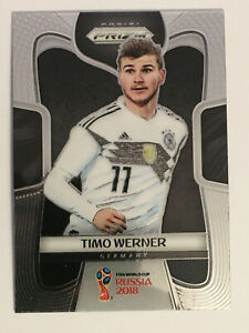 Panini Donruss Soccer 18//19 timo Werner base trading card Germany RB Leipzig
