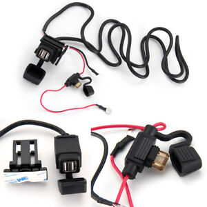 Motorbike-12v-USB-Socket-Adapter-Chargers-Docks-Power-Waterproof-Security