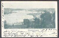 Deutsche Post Türkei, gelauf. AK 1902 20 Para als EF aus Konstantinopel (11850)