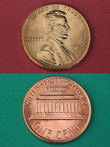1984 D  Lincoln Memorial Penny ~ Uncirculated Coin Original Mint Cello
