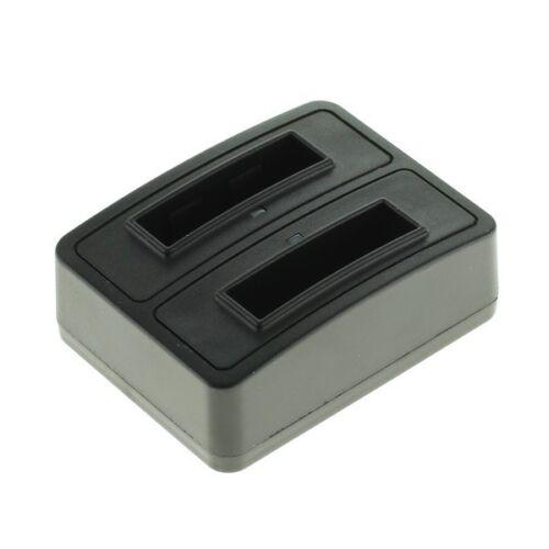 Duo cargador de batería para Canon PowerShot g7x nb-13l