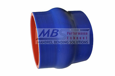 """SILICONE HUMP HOSE COUPLER 2 1//4/"""" 2.25/"""" BLUE 5 PLY INTERCOOLER TURBO RACING MBS"""