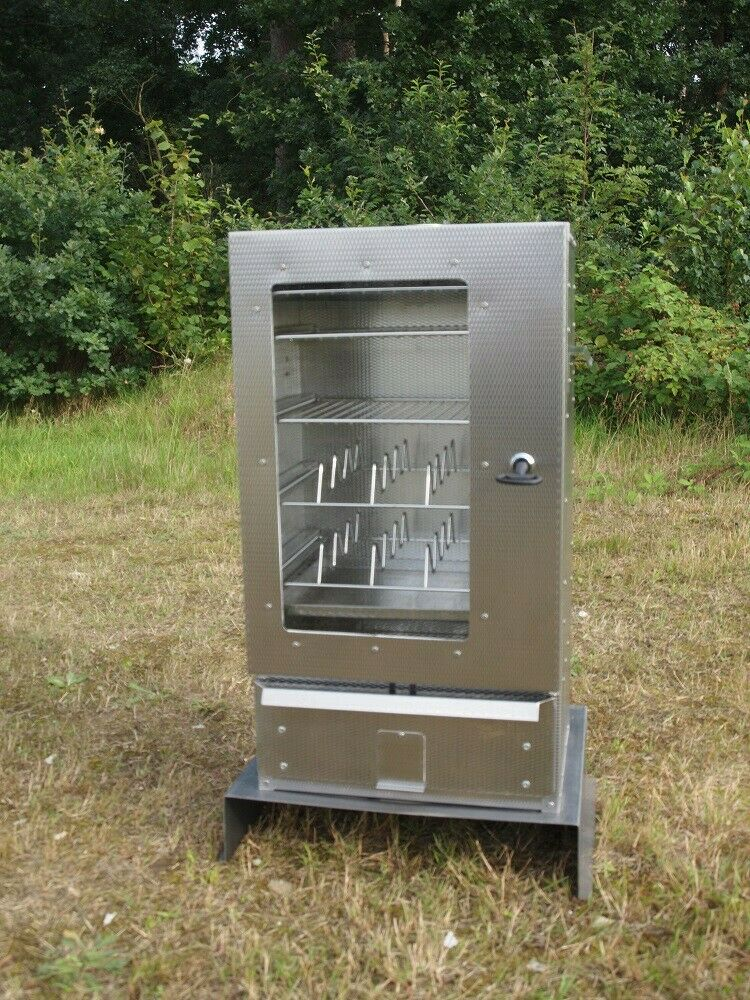 Smoki-smoker 70 x 39 x 26 cm + disc AISI  430-Edelstahl wardrobe smoked furnace  discount low price