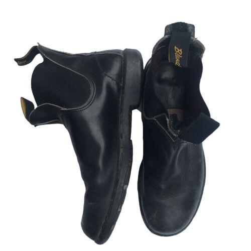 Blundstone Boots Black Size 8 / 42 Steel Toe