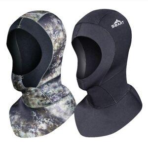 3mm-Neoprene-Scuba-Diving-Hood-With-Shoulder-Spearfishing-Hat-Winter-Swim-Hood