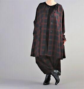 ♦ 3 Farben  AKH Fashion Oversize Jacke Gr. 46,48,50,52,54,56,58,60,62 ♦