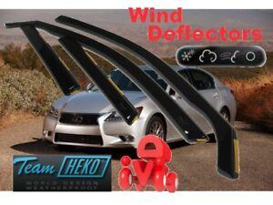 LEXUS-GS-IV-2012-4-doors-Wind-deflectors-4-pc-HEKO-30027
