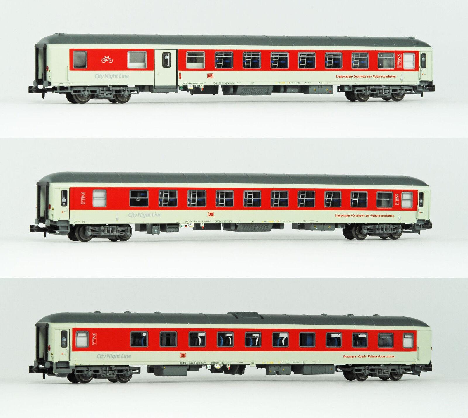 Ls Models 79053 DBAG nachtzugwagen-set 3-tlg ep.6 CNL Sirius limitado 250 unid.