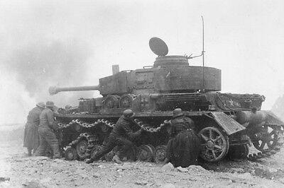 WWII Photo German Panzer IV Monte Cassino  WW2 World War Two Wehrmacht 4018