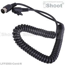 External Flash Battery Pack Power Supply Cord Cable for Nikon SB910/SB900/SB800