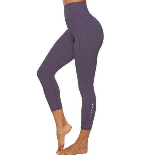 Womens Sports Yoga Pants High Waist Gym Push Up Leggings Fitness Running Workout