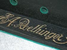 vintage ANCIEN LOGO BOIS wood HARMONIUM à PEDALE strasbourg Alexandre ROETHINGER