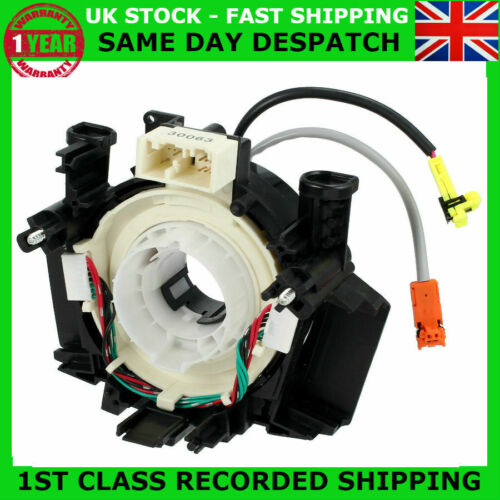 NEW AIRBAG CLOCK SPRING SQUIB SPIRAL CABLE FIT NISSAN QASHQAI PATHFINDER 350Z YT