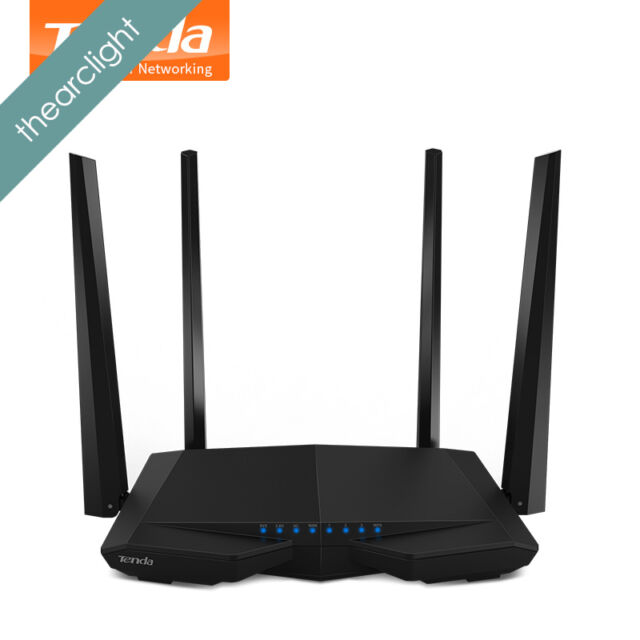 Tenda AC6 1200Mbps Smart Dual-Band 802.11AC 2.4G/5.0GHz Gigabit Wireless WiFi