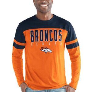 1be6e5ac3 Denver Broncos G-III NFL Playoff Long Sleeve Tee Adult XXL T-Shirt ...