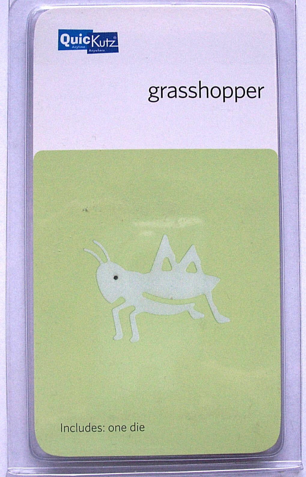 Quickutz//Lifestyle Crafts c-rs-0065 Grasshopper 1 Cutting Die NEW